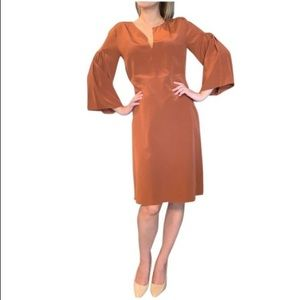 NWT 100% silk DOROTHEE  Schumacher dress